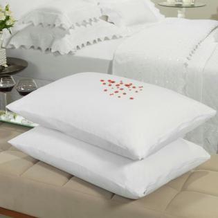 c9dc3effdc Protetor de travesseiro avulso impermeável Percal 200 fios 100% Algodão -  Dui Design