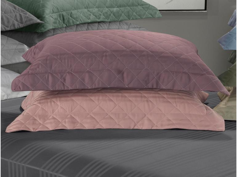 Porta-travesseiro avulso Cetim 300 fios 100% Algodão - Milano - Dui Design