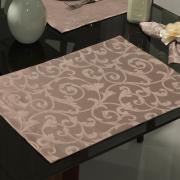 Jogo Americano 4 Lugares (4 peças) Fácil de Limpar 35x50cm - Princess Noz Moscada - Dui Design