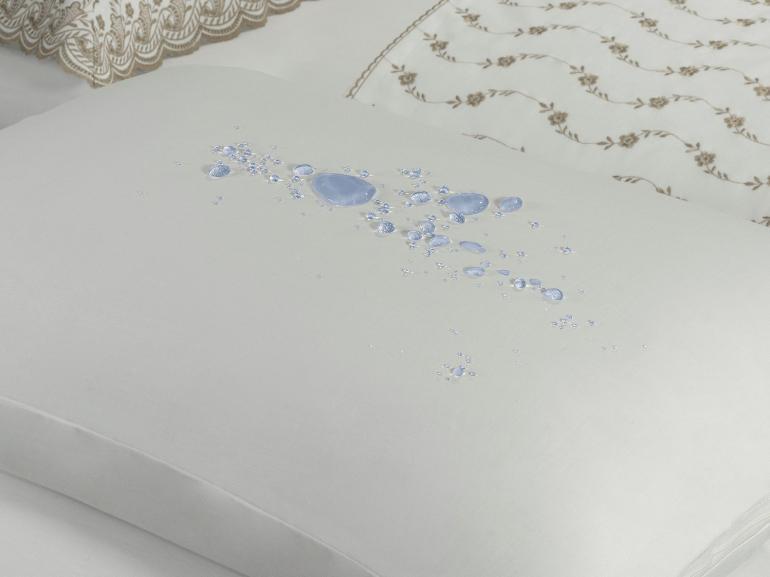 Protetor de travesseiro avulso impermeável Percal 180 fios 100% Algodão - Dui Design