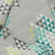 Edredom Casal 150 fios - Qatar Cinza - Dui Design