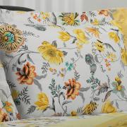 Jogo de Cama Queen Percal 180 fios - Raila Marfim - Dui Design