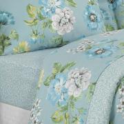 Edredom King 150 fios - Rebeca Azul - Dui Design