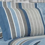 Jogo de Cama Queen Percal 200 fios - Robin Azul - Dui Design