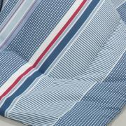 Jogo de Cama Queen 150 fios - Rodolfo Azul - Dui Design