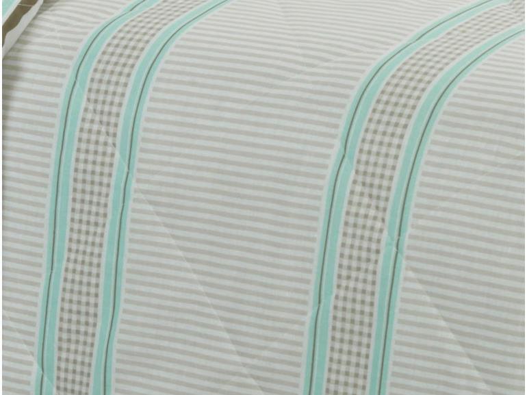 Kit: 1 Cobre-leito King + 2 Porta-travesseiros 150 fios - Rodolfo Bege - Dui Design