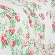 Enxoval Casal com Edredom 5 peças 150 fios - Rosalia Vermelho - Dui Design