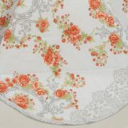 Enxoval Casal com Cobre-leito 7 peças 150 fios - Rosana Carmim - Dui Design