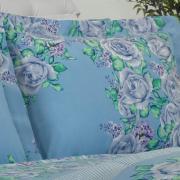 Jogo de Cama King 150 fios - Rosario Porcelana - Dui Design