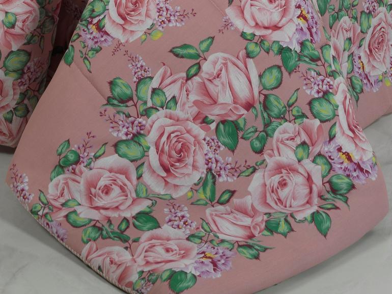 Jogo de Cama Queen 150 fios - Rosario Rosa - Dui Design