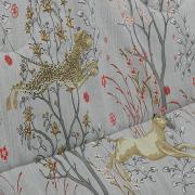 Jogo de Cama Queen Percal 180 fios - Safari Cinza - Dui Design