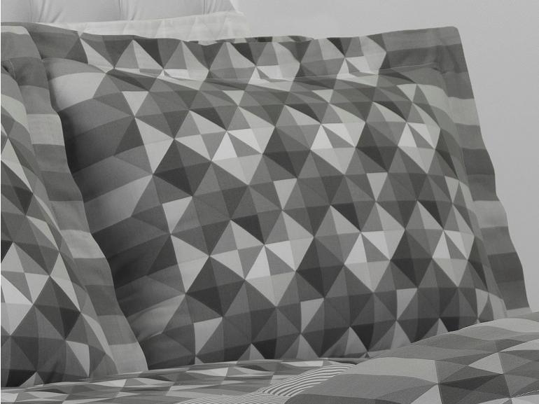 Jogo de Cama Queen 150 fios - Sandor Cinza - Dui Design