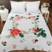 Cobertor Avulso Casal Flanelado com Estampa Digital - Serenata - Dui Design