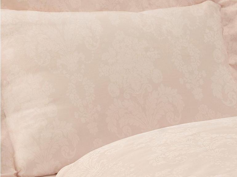 Jogo de Cama Queen Cetim 300 fios Jacquard - Sevilha Rosa - Dui Design