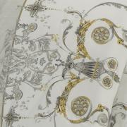 Jogo de Cama King Percal 200 fios - Shanti Cinza - Dui Design
