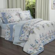 Edredom King 150 fios - Siby Azul - Dui Design