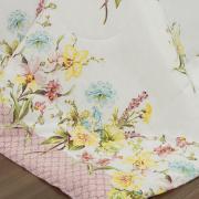 Jogo de Cama Casal 150 fios - Siby Rosa - Dui Design