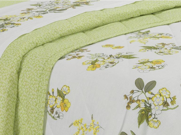 e9635966cb Enxoval Casal com Cobre-leito 7 peças 150 fios - Siena Botanic - Dui Design