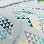 Jogo de Cama King 150 fios - Singapura Cinza - Dui Design