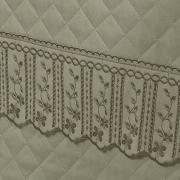 Jogo de Cama Queen Percal 200 fios com Bordado Inglês - Sofia Castanho - Dui Design