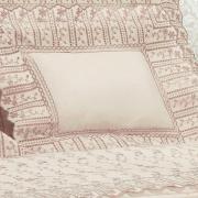 Jogo de Cama Queen Percal 200 fios com Bordado Inglês - Sofia Rosa Velho - Dui Design