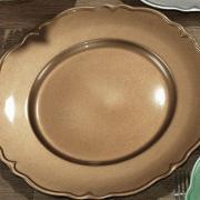 Kit: 4 Sousplat 33cm redondo - Classic - Dui Design