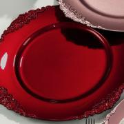 Kit: 4 Sousplat 33cm redondo - Paris - Dui Design