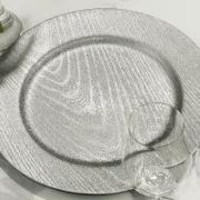 Kit: 4 Sousplat 33cm redondo - Portofino - Dui Design