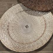 Kit: 4 Sousplat 33cm redondo - Rafiné - Dui Design