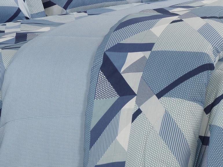 Jogo de Cama Queen 150 fios - Spyke Indigo - Dui Design