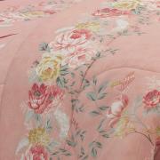 Jogo de Cama Queen 150 fios - Suzan Rosa Velho - Dui Design
