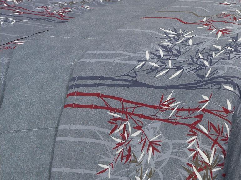 Edredom Solteiro Percal 180 fios - Suzuki Azul - Dui Design