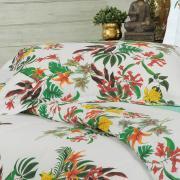Jogo de Cama Queen Percal 180 fios - Taiti Tropical - Dui Design