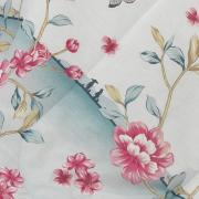 Edredom Solteiro Percal 180 fios - Takashi Azul - Dui Design