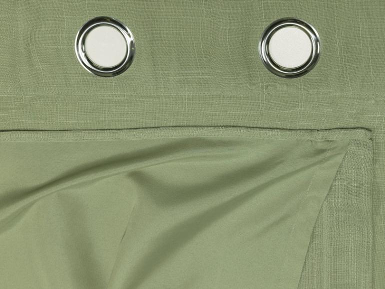 Cortina Dupla Voil Flamê efeito Linho com Forro de Tecido Microfibra 2,30m de Altura para Varão entre 2,50m e 3,50m de Largura - Toledo - Dui Design