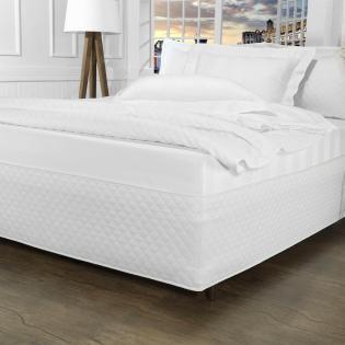 1586e6ea8f Saia para cama Box Matelassada Fácil de Vestir King - Tóquio Matelada Branco  - Dui Design