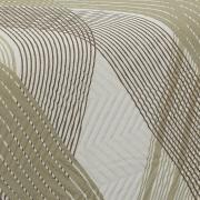 Kit: 1 Cobre-leito Casal Bouti de Microfibra Ultrasonic Estampada + 2 Porta-travesseiros - Trevis Stone - Dui Design