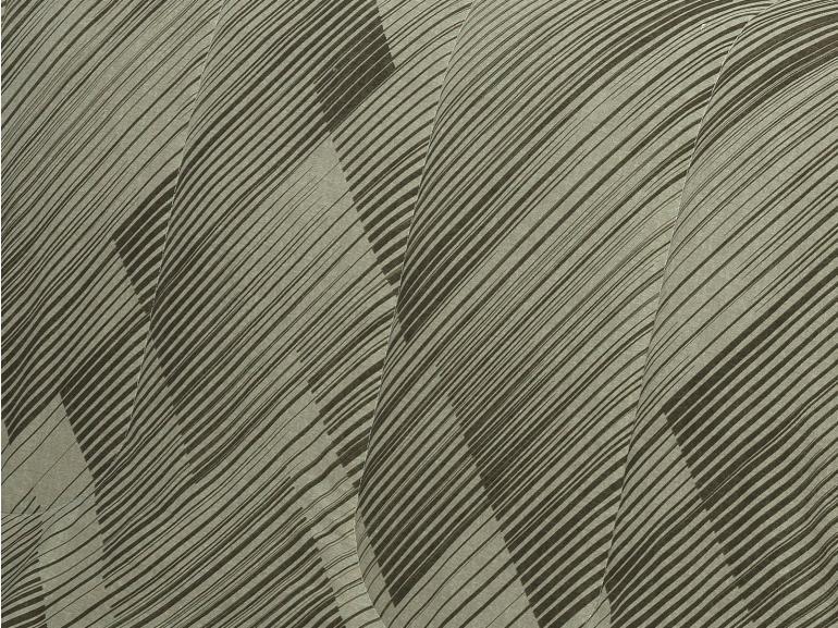 Enxoval Casal com Edredom 5 peças Percal 180 fios - Trinity Taupe - Dui Design
