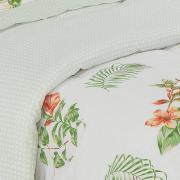 Jogo de Cama Queen Percal 180 fios - Trópico Verde - Dui Design
