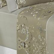 Jogo de Cama Queen Cetim 300 fios - Valência Bege - Dui Design