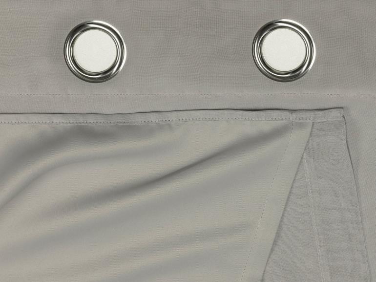 Cortina Dupla Voil Dolly com Forro de Tecido Blackout 2,30m de Altura para Varão entre 2,50m e 3,50m de Largura - Valência - Dui Design
