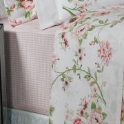 Jogo de Cama Queen Percal 200 fios - Valentina Rosa - Dui Design