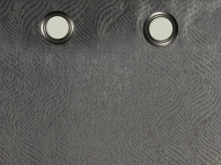Cortina Shiny Blackout 2,30m de Altura para Varão entre 3,00m e 4,00m de Largura - Vernon - Dui Design