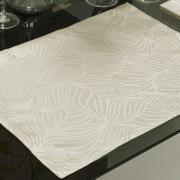 Jogo Americano 4 Lugares (4 peças) Fácil de Limpar 35x50cm - Vernom Bege - Dui Design