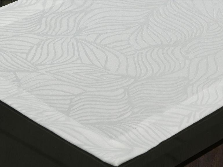 Jogo Americano 4 Lugares (4 peças) Fácil de Limpar 35x50cm - Vernom Branco - Dui Design