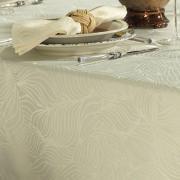 Toalha de Mesa Fácil de Limpar Quadrada 4 Lugares 160x160cm - Vernom Champagne - Dui Design