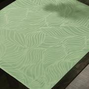 Jogo Americano 4 Lugares (4 peças) Fácil de Limpar 35x50cm - Vernom Verde Claro - Dui Design