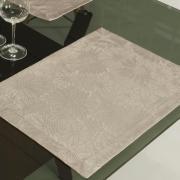 Jogo Americano 4 Lugares (4 peças) Fácil de Limpar 35x50cm - Viena Noz Moscada - Dui Design