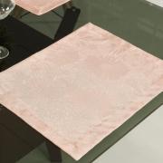 Jogo Americano 4 Lugares (4 peças) Fácil de Limpar 35x50cm - Viena Rosa Velho - Dui Design