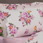 Jogo de Cama Casal 150 fios - Violet Mauve - Dui Design